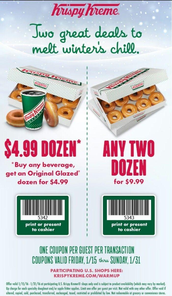 Krispy Kreme Coupon: Two Dozen Donuts For $9.99 Or One Dozen - Free Printable Krispy Kreme Coupons