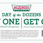Krispy Kreme   Printable Coupons And Deals   Free Printable Krispy Kreme Coupons