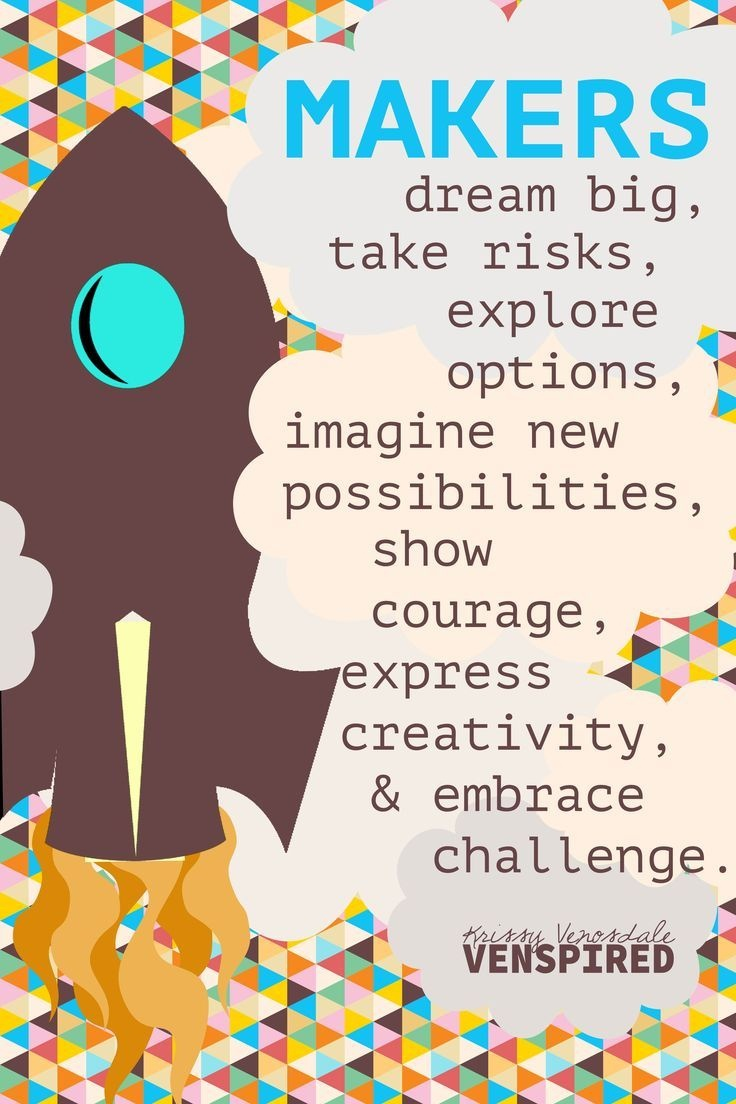 Krissy Vensodale Makes The Most Amazing Makerspace Posters. All - Free Printable Poster Maker