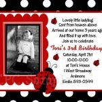 Ladybug Invite Template   Tutlin.psstech.co   Free Printable Ladybug Invitations