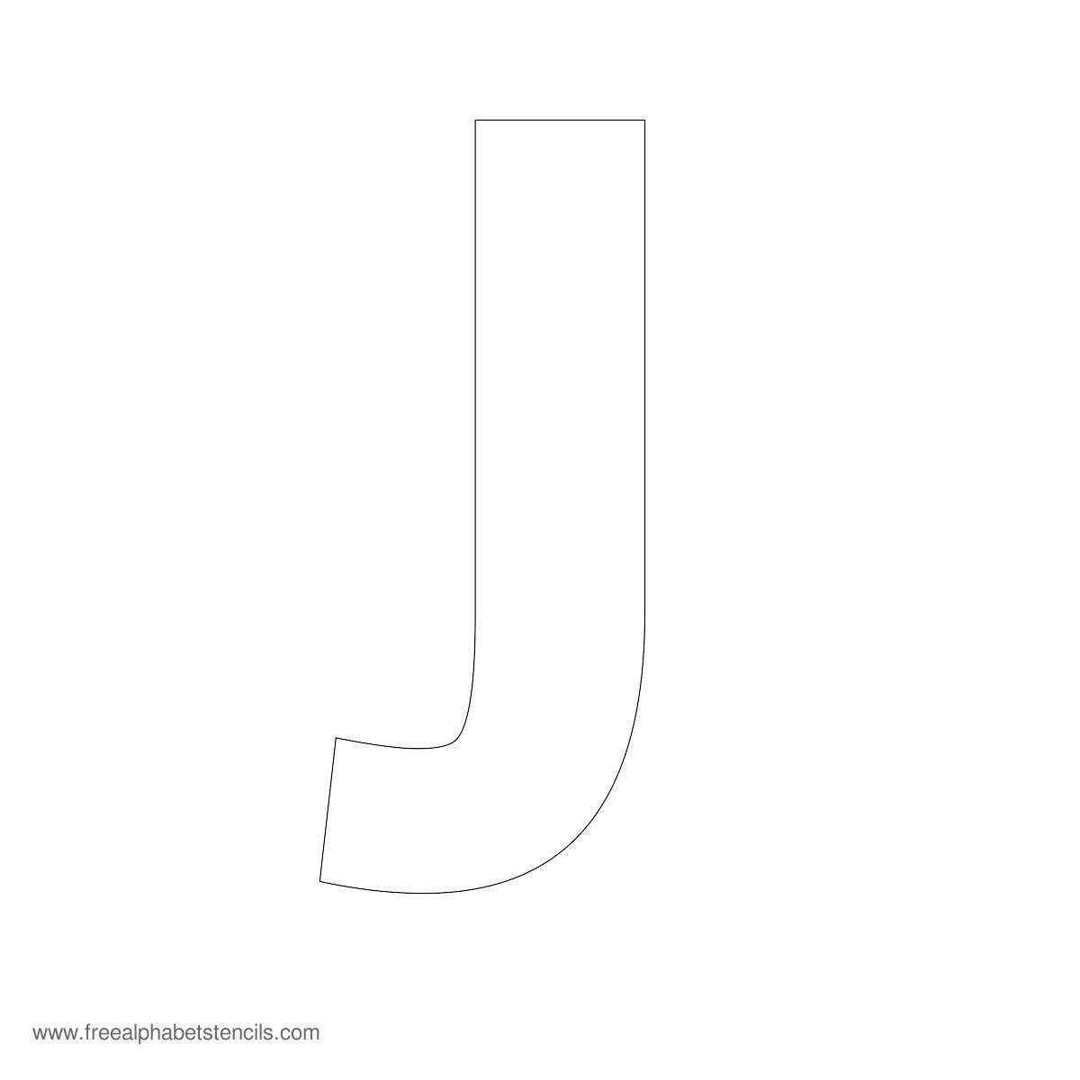 Large Alphabet Stencils | Freealphabetstencils - Large Printable Fonts Free