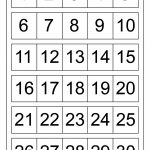 Large Printable Numbers 1 100 | To Dot With Numbers Printable   Free Large Printable Numbers 1 100