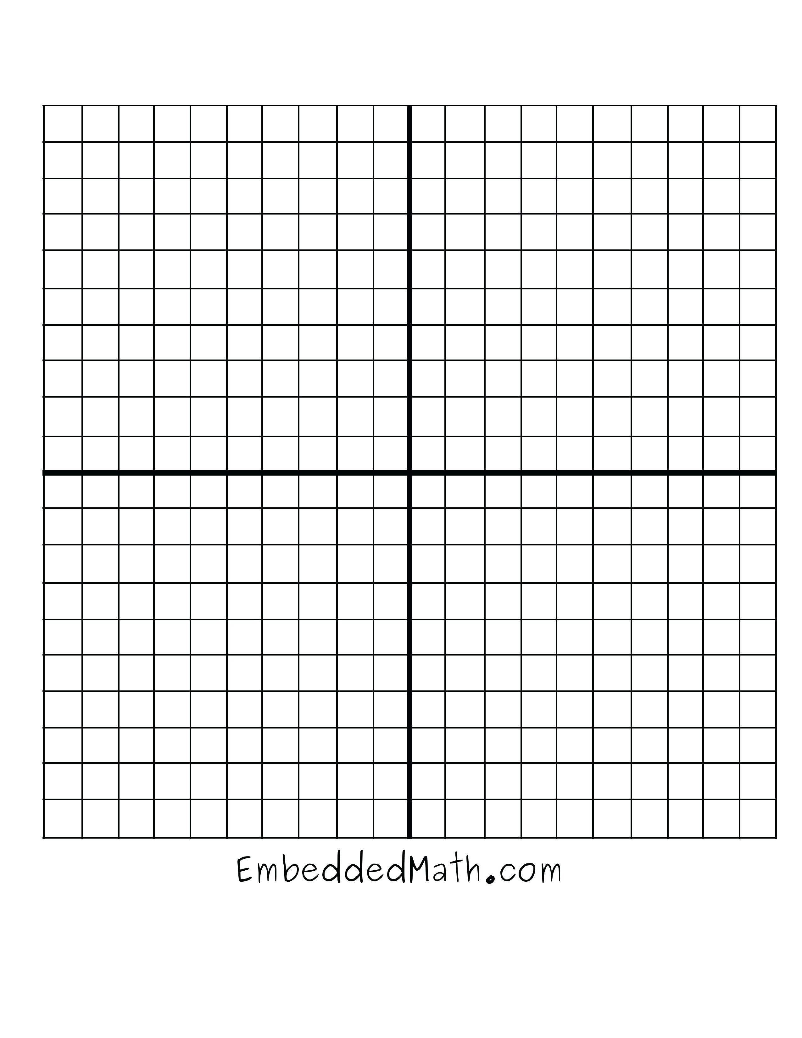 Large Square Graph Paper Math Large Coordinate Plane Grass Worksheet - Free Printable Coordinate Plane Pictures