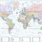 Large World Map Image   Free Printable Custom Maps