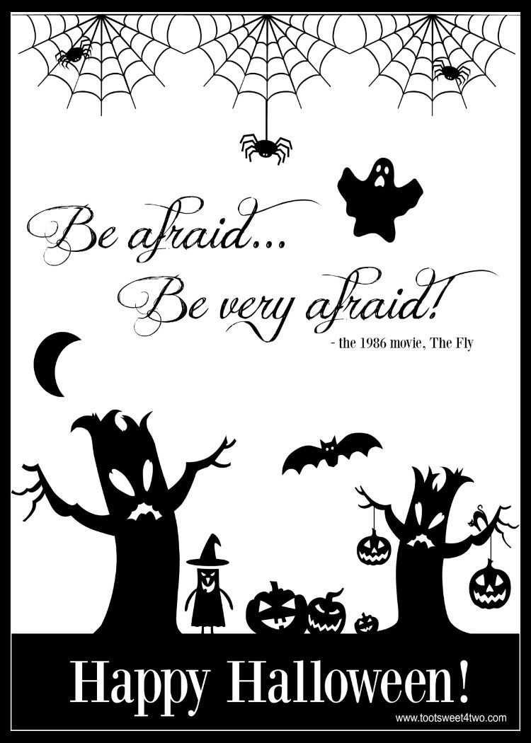 Last Chance - 13 Free Halloween Printables You Will Love - Free Halloween Printables