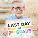 Last Day Of School Signs   Free Printable   Happiness Is Homemade   Free Printable Last Day Of School Signs 2017 2018