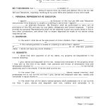 Last Will And Testament Template | Best Template Collection   Last   Free Printable Last Will And Testament Blank Forms Florida