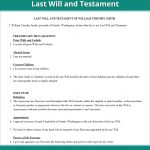 Last Will & Testament Form | Free Last Will (Us) | Lawdepot   Free Printable Living Will Forms Washington State