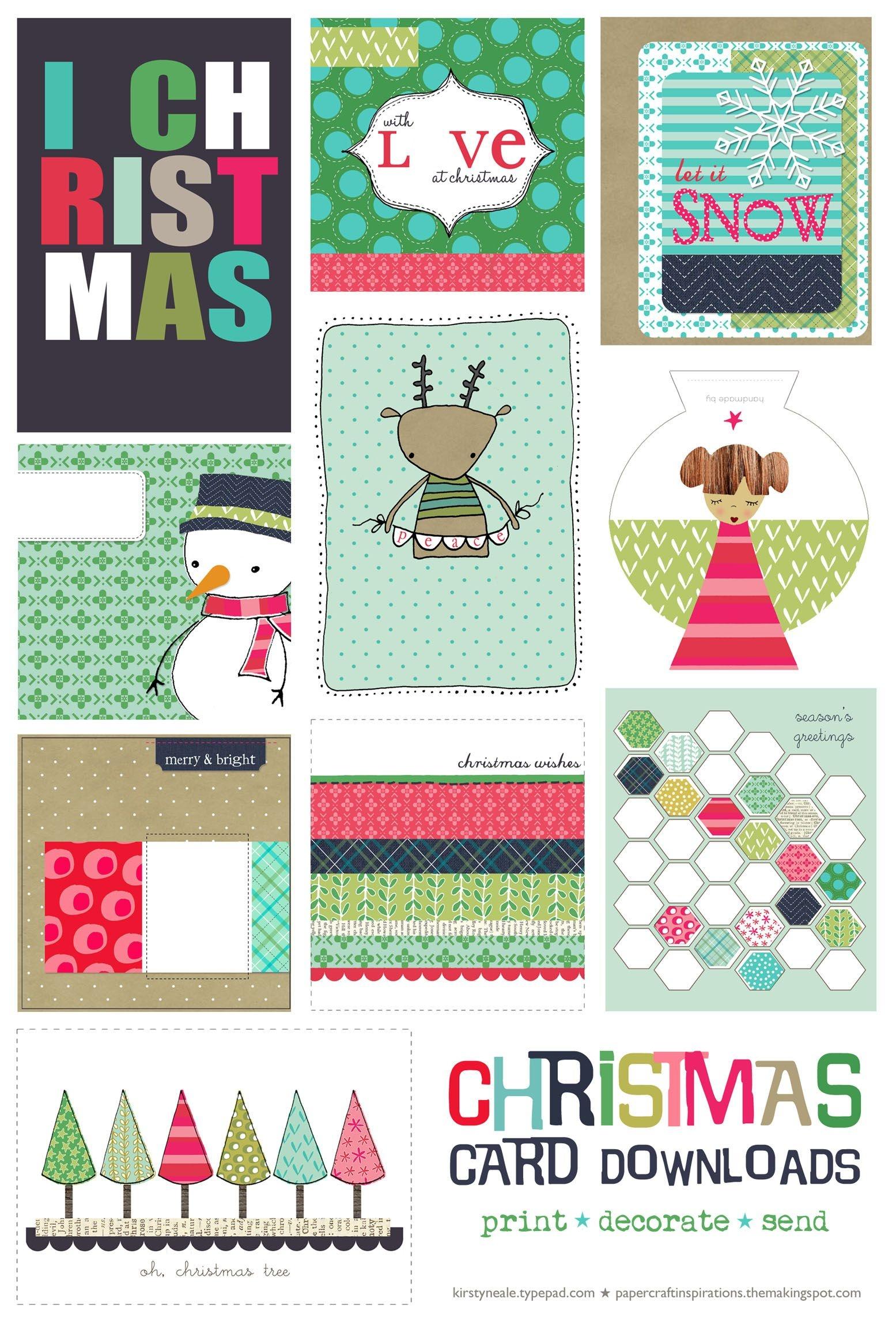 Lazy Christmas | Joyeaux Noel | Printable Christmas Cards, Christmas - Free Printable Xmas Cards Download