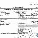 Learn How To Fill The Dd 214 Form Certificate Of Release Of   Free Printable Dd214 Form