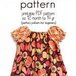 Learn How To Sew A Peasant Dress With This Free Peasant Dress   Free Printable Toddler Dress Patterns