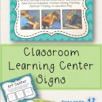Learning Center Signs | Taisha Favorite | Preschool Center Signs   Free Printable Learning Center Signs
