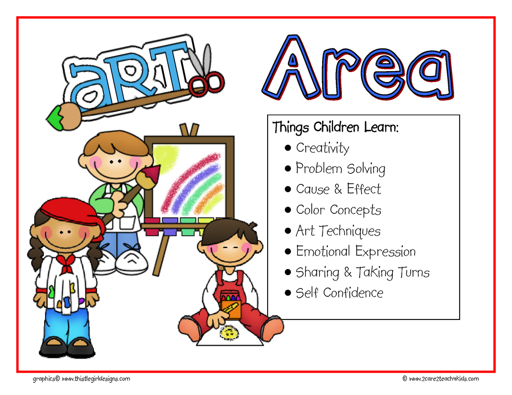 Learning Centers- Free Printable Resources -2Care2Teach4Kids - Free Printable Center Signs For Pre K