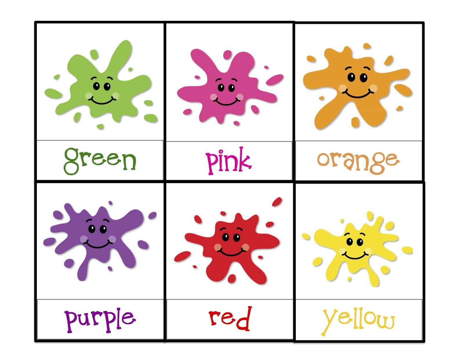 Learning Colors Printable | Children's Activities | Toddler Color - Color Recognition Worksheets Free Printable