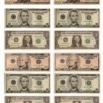 Legal, Free, Printable Money For Teaching The Kids About American   Free Printable Play Money