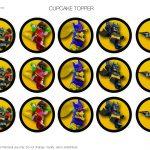 Lego Batman Cupcake Topper | Birthday Buzzin   Free Printable Lego Batman