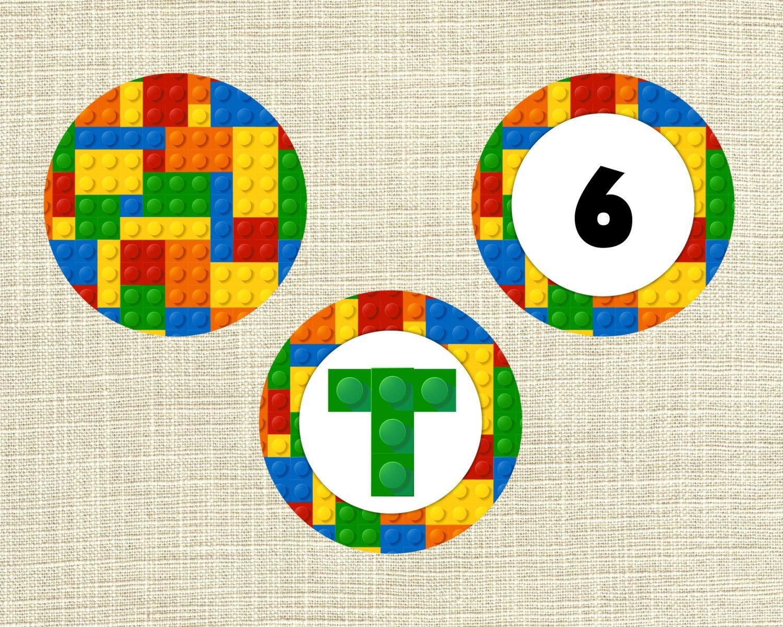 Lego+Cupcake+Topper+Printables | Kid Stuff | Lego Cupcakes, Lego - Free Printable Lego Cupcake Toppers