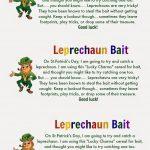 Leprechaun Bait {With Free Printable Tags} | St. Patrick's Day   Free Printable Leprechaun Notes