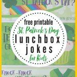 Leprechaun Lunchbox Jokes For Kids | The Heathered Nest   Free Printable Leprechaun Notes