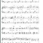 Let It Go Easy Version Frozen Theme Free Piano Sheet Music & Piano   Let It Go Piano Sheet Music Free Printable