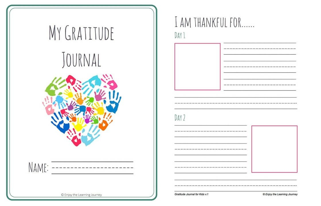 Let's Choose To Be Grateful! Free Printable 31-Day Gratitude Journal - Free Printable Gratitude Journal