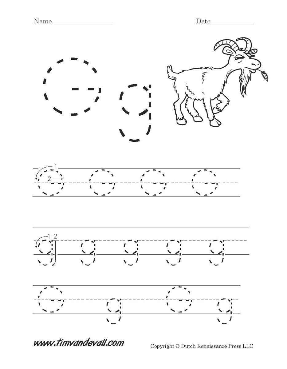 Letter G Worksheets | Preschool Alphabet Printables - Free Letter Printables For Preschool
