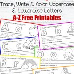 Letter Writing Practice Free Printables     Learning To Write Letters Free Printables