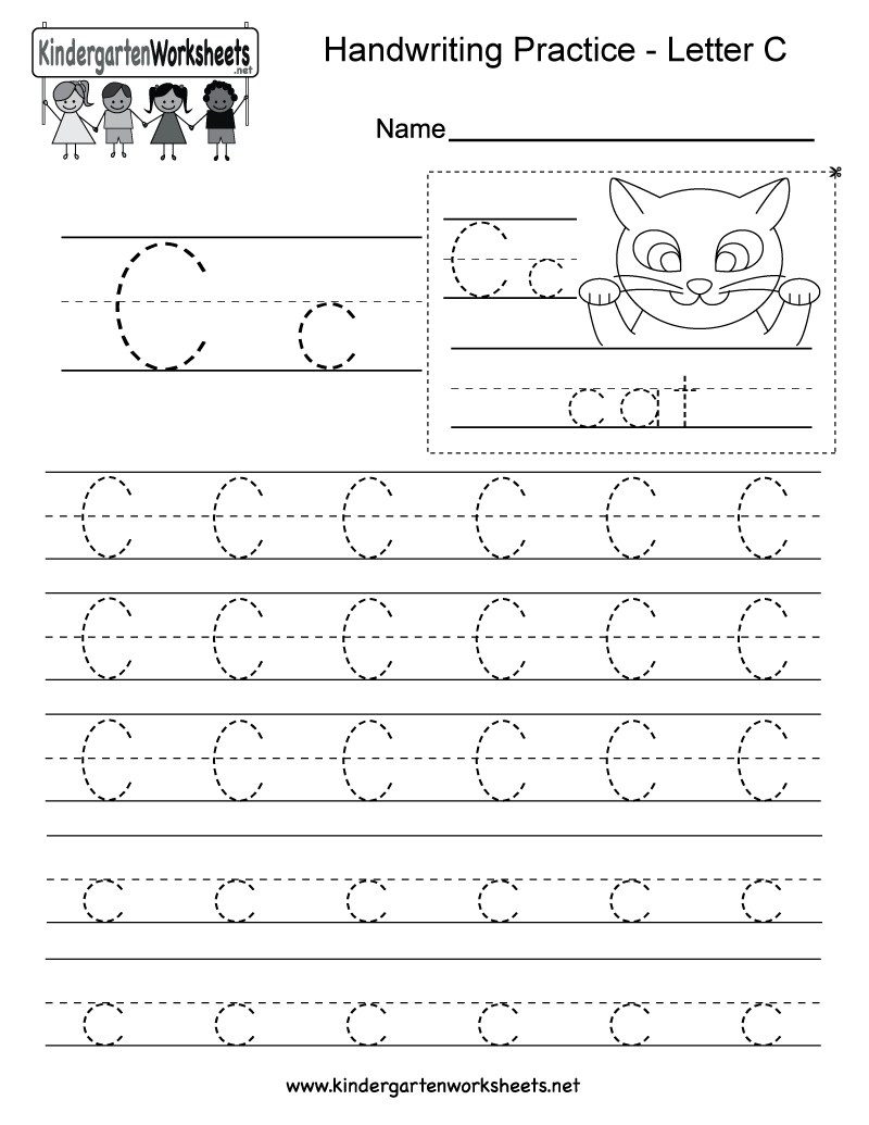 Letter Writing Practice Worksheet - Tutlin.psstech.co - Handwriting Without Tears Worksheets Free Printable