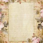 Lilac & Lavender: The Fairest Blossom | Printable Stationery   Free Printable Vintage Stationary