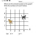 Line Graph Worksheet   Free Kindergarten Math Worksheet For Kids   Free Printable Graphs For Kindergarten