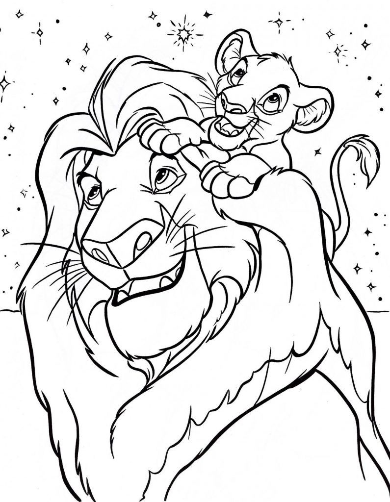Lion King Coloring Pages | Disney Coloring Pages | Disney Coloring - Free Printable Disney Coloring Pages