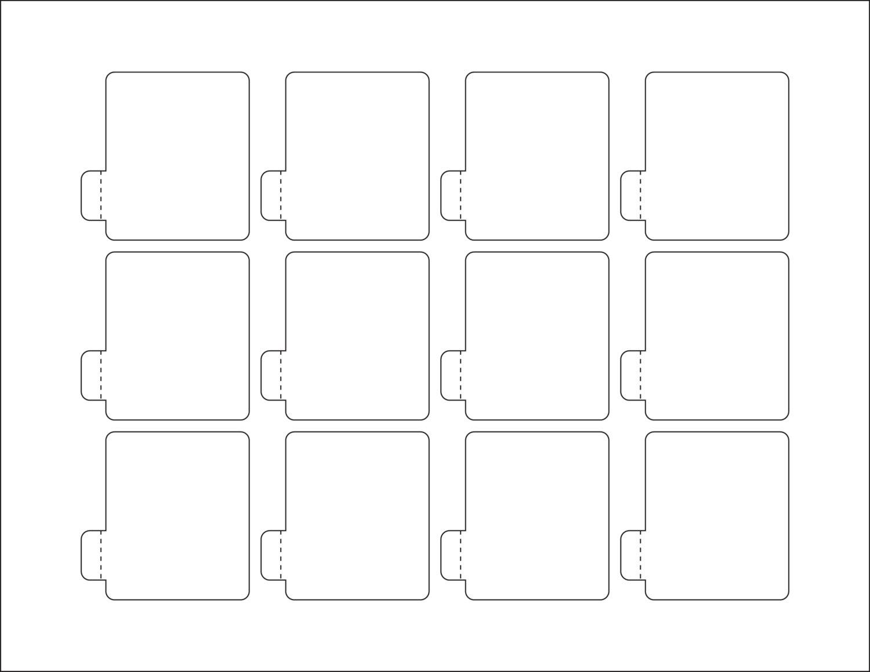 Lip Balm Label Template - Free Download - D-Templates - Free Printable Lip Balm Label Template
