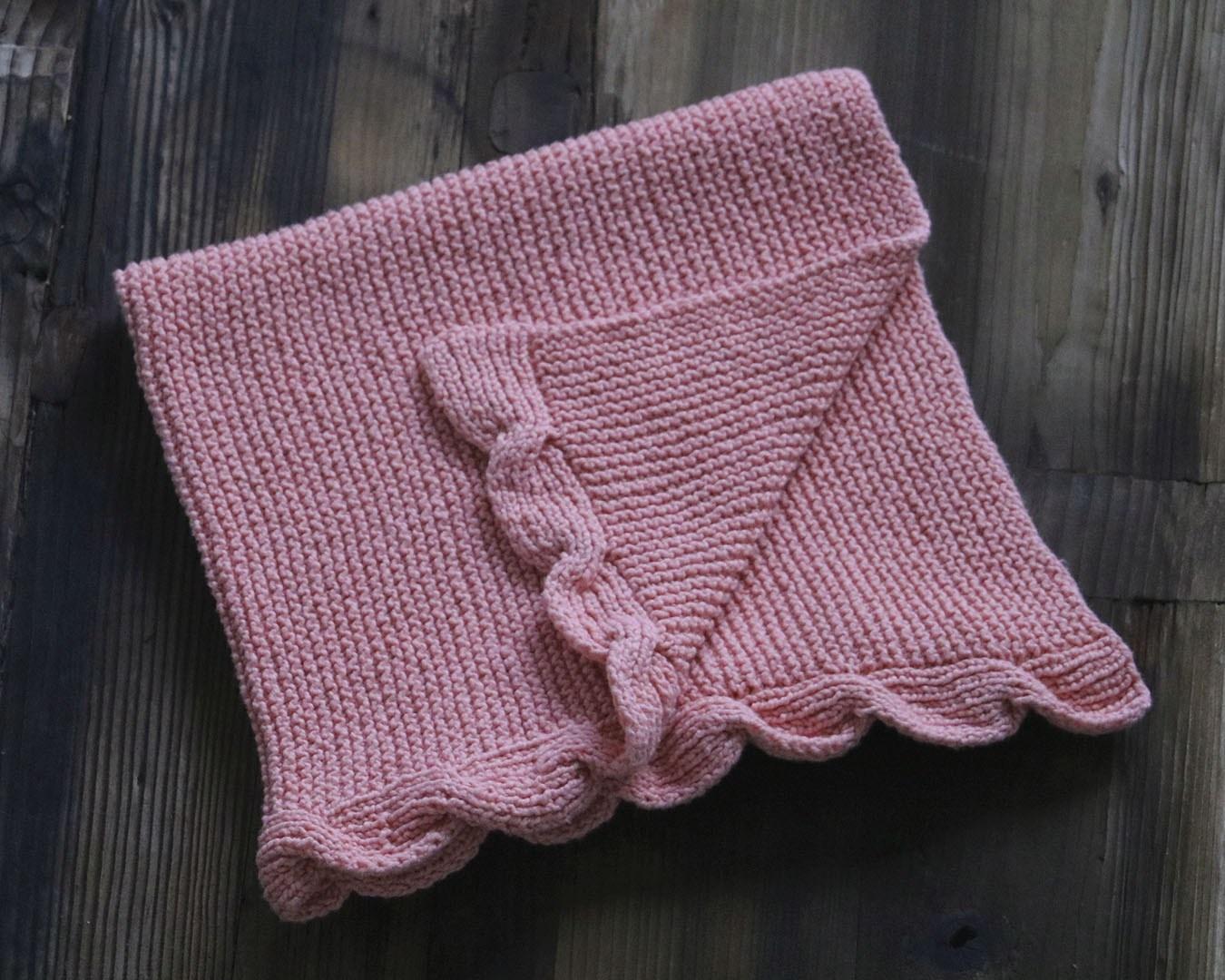 Lola Baby Blanket Knitting Pattern | Originally Lovely - Free Printable Knitting Patterns For Baby Blankets