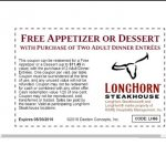 Longhorn Coupons Free Appetizer 2018   Tyson Fully Cooked Chicken   Texas Roadhouse Printable Coupons Free Appetizer