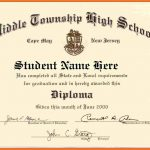 Looking For High School Diploma Template Word For Free? Here You Go   Printable Fake Ged Certificate For Free
