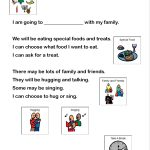 Looking For Social Stories And Visual Supports To Help Through The   Free Printable Social Story Template