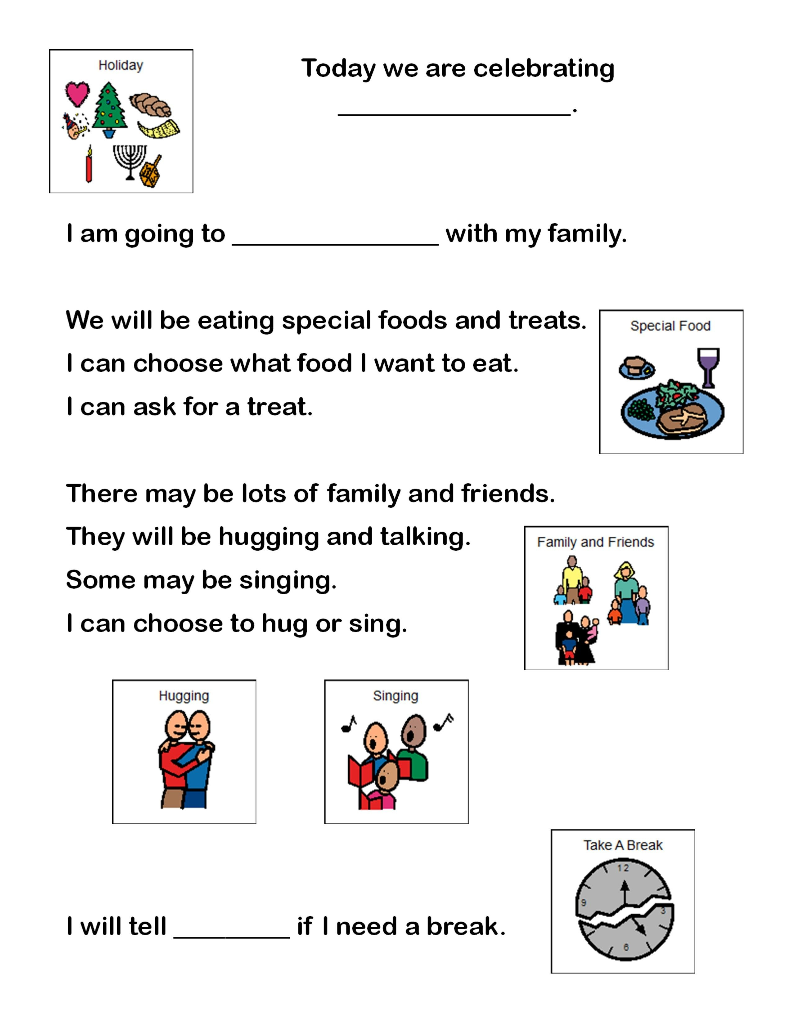 Looking For Social Stories And Visual Supports To Help Through The - Free Printable Social Story Template