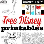 Lots Of Free Disney Printables Here From The Newest Movies! Coloring   Free Disney Activity Printables