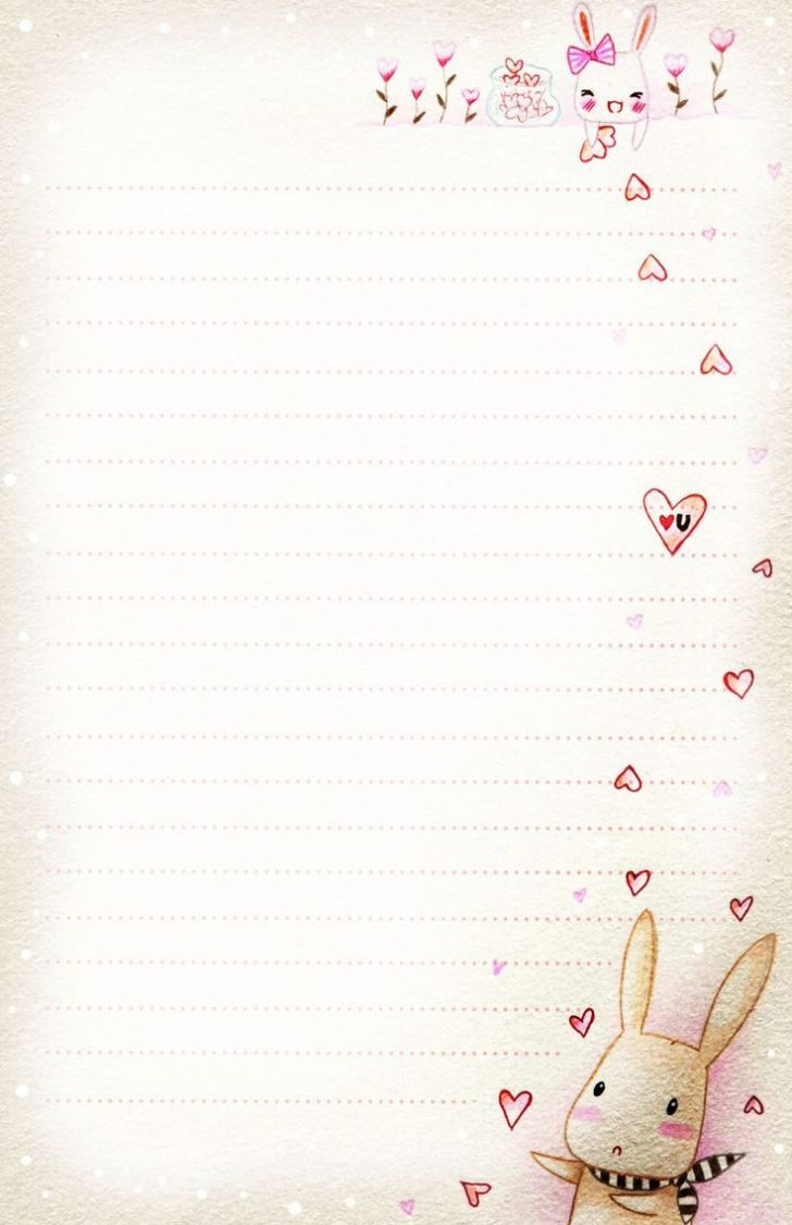 Free Printable Love Letter Paper