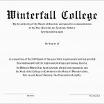 Lovely Free Fake High School Diploma Templates | Best Of Template   Printable Fake Ged Certificate For Free