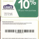 Lovely Lowes Online Coupons | Cobble Usa   Lowes 20 Printable Coupon Free