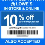 Lowes Coupons 20 / Wcco Dining Out Deals   Lowes 20 Printable Coupon Free