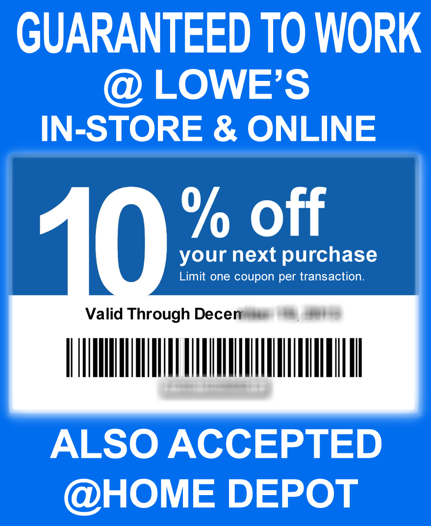 Lowes Coupons 20 / Wcco Dining Out Deals - Lowes 20 Printable Coupon Free