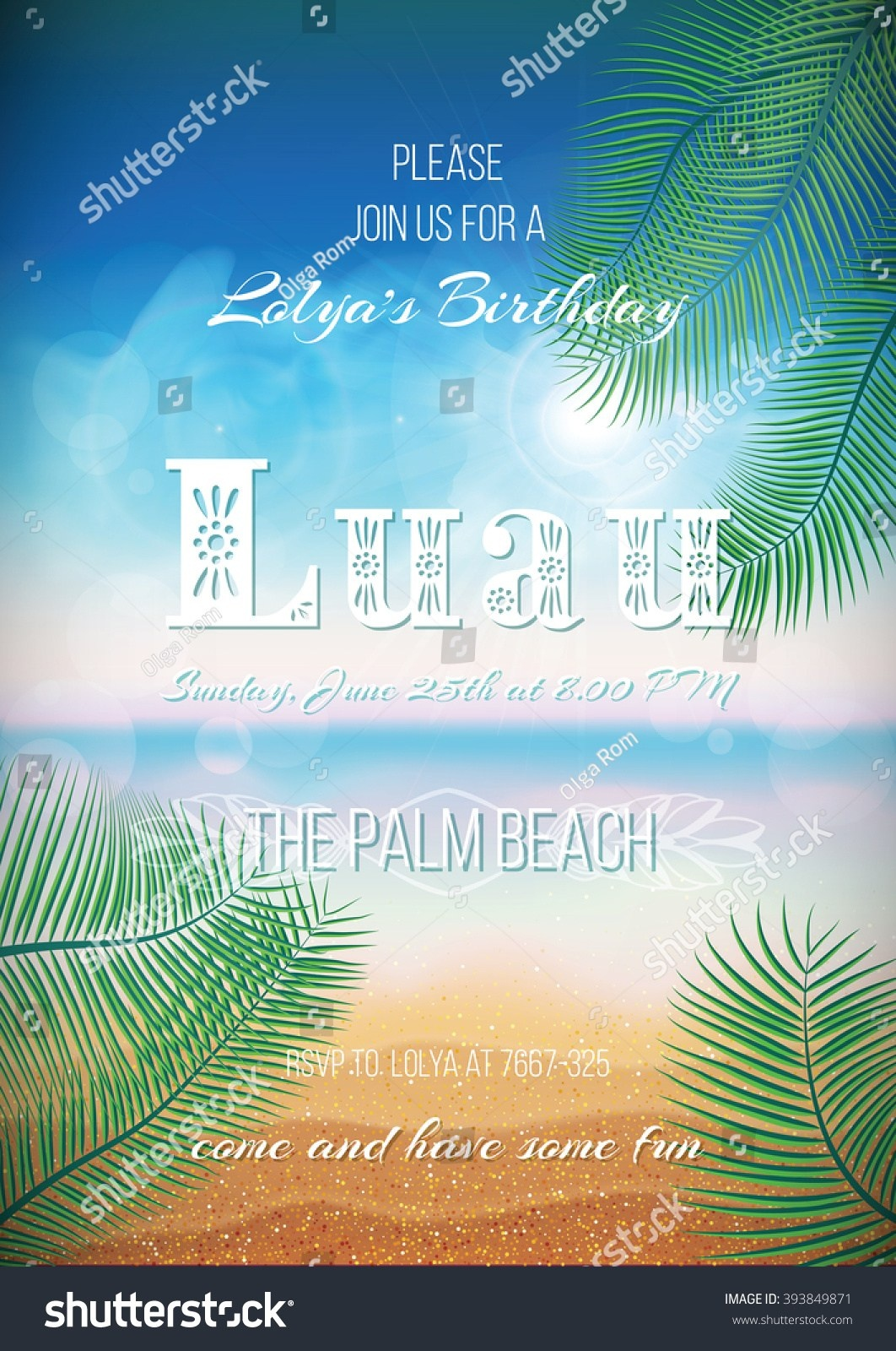 Luau Flyer Template. Top 25 Best Summer Party Psd. Jungle Party - Free Printable Luau Flyers