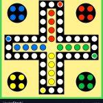 Ludo Board Game Royalty Free Vector Image   Vectorstock   Free Printable Ludo Board