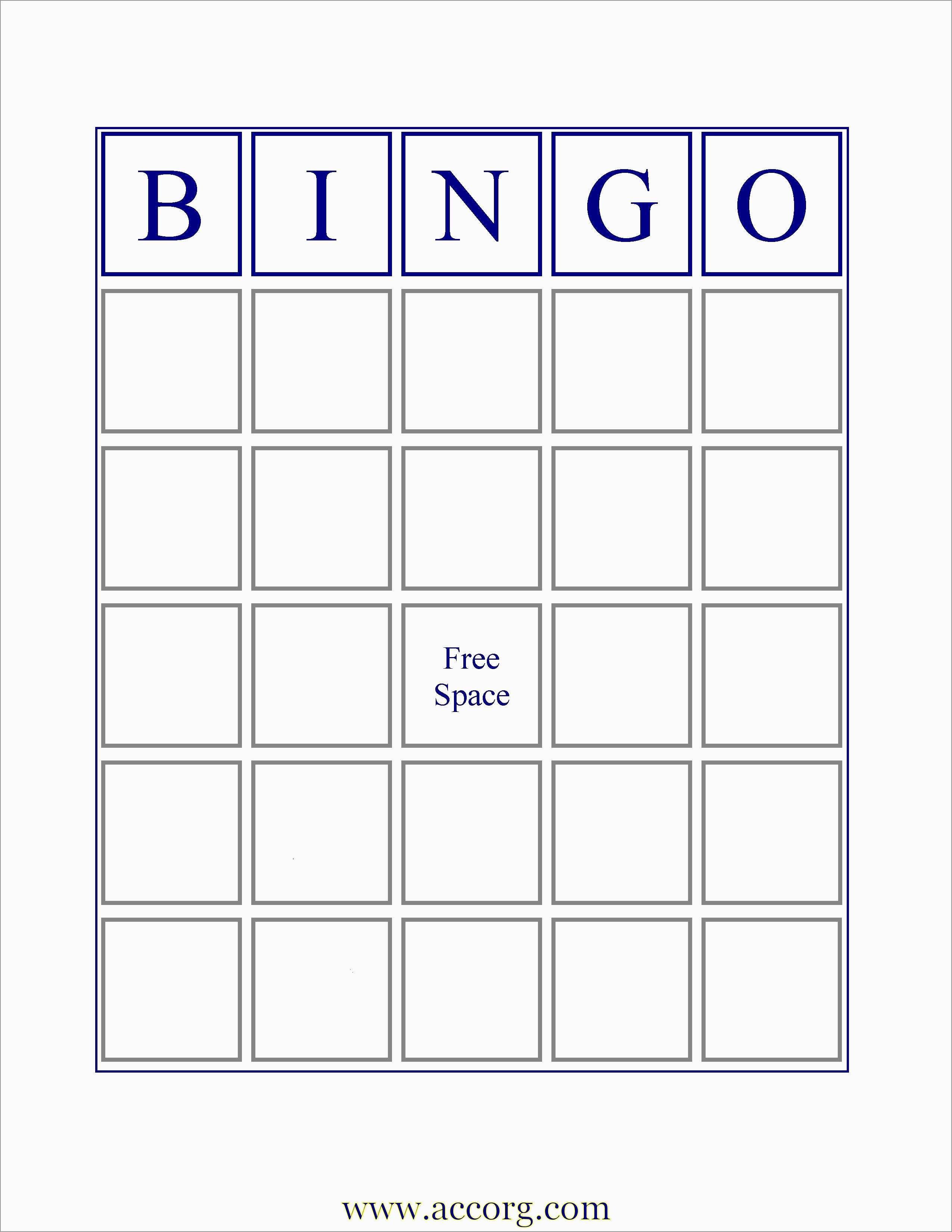Luxury Bingo Card Template Free | Best Of Template - Free Printable Bingo Maker