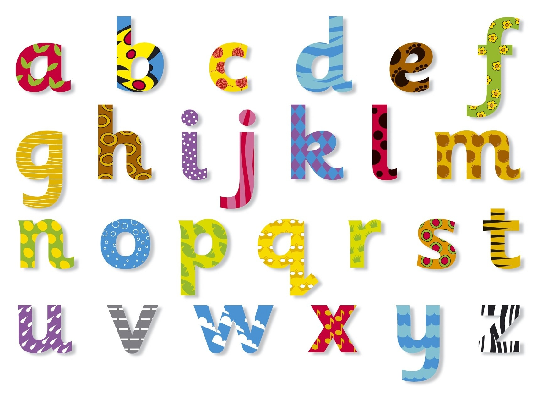 Luxury Free Printable Alphabet Letters Lower Case | Www.pantry-Magic - Free Printable Clip Art Letters
