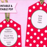 Luxury Free Printable Gift Tag Templates For Word | Best Of Template   Free Printable Christmas Price Tags