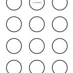 Macaron 1.75 Inch Circle Template   Google Search I Saved This To My   Free Printable 6 Inch Circle Template