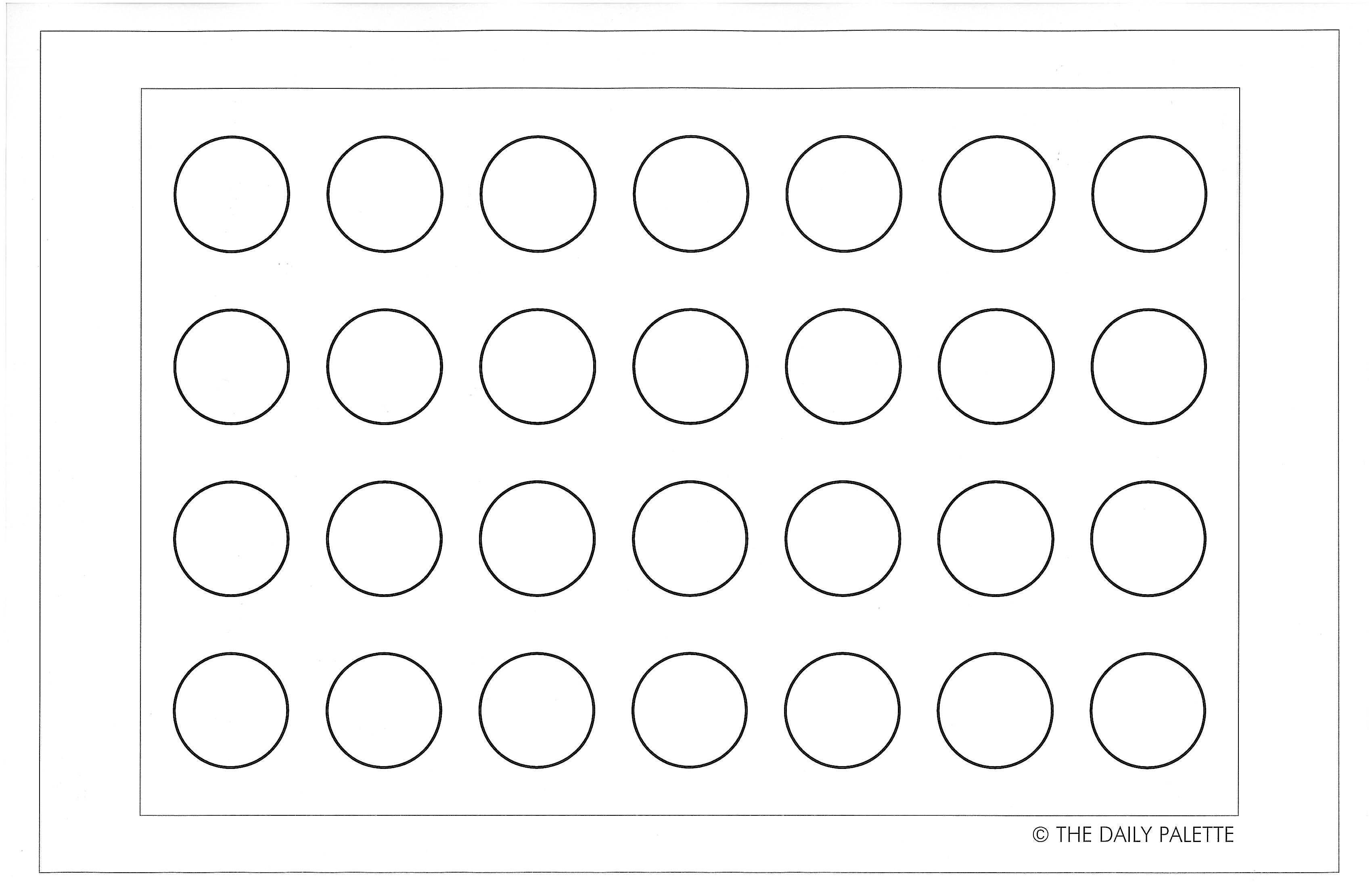 Macaron Templates To Print Off - Maybe I Can Toss My Tired Old - Free Printable Macaron Template